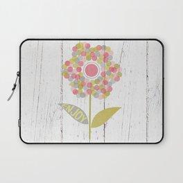 Dot Flower Laptop Sleeve