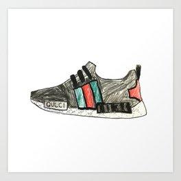 Shoe Sketch 02 Art Print