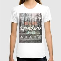 background T-shirts featuring Wander by Wesley Bird