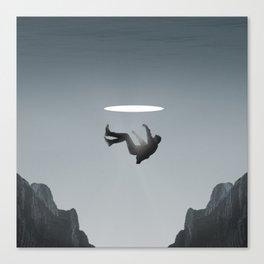 Uncanny Falls Canvas Print