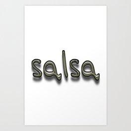 Salsa Yoff Art Print