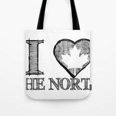 I Heart North Tote Bag
