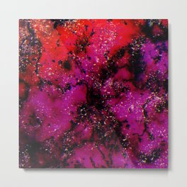 Rock Bottom Space Metal Print
