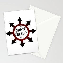 Great Energy Stationery Cards