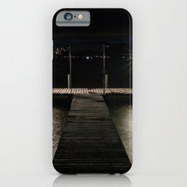 Muntelier Dock iPhone Case