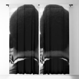 Civil Rights Selma to Montgomery, African American Rights March, March 65 black and white photograph Blackout Curtain