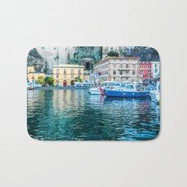 Marina in Sorrento, Italy Bath Mat