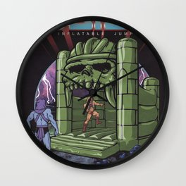 Inflatable Bouncy Castle Grayskull Wall Clock