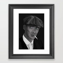 Thomas F'n Shelby - Peaky Blinders Framed Art Print