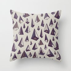 Triangles Are My Favorite Shape Throw Pillow