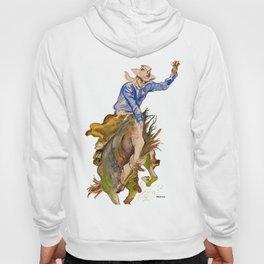 Ride em Cowboy by Peter Melonas Hoody