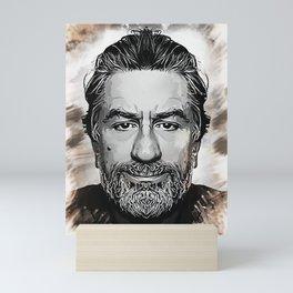 Robert De Niro - Caricature Mini Art Print