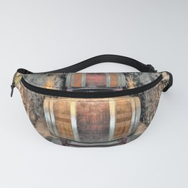Wine Barrels Fanny Pack