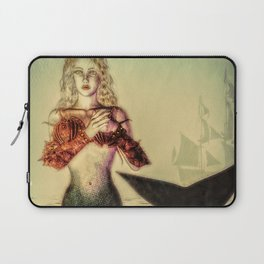 The Lonely Mermaid Laptop Sleeve