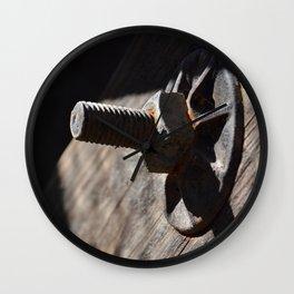 Nuts & Bolts Wall Clock