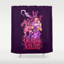 Five Nights at Freddy's Shower Curtain
