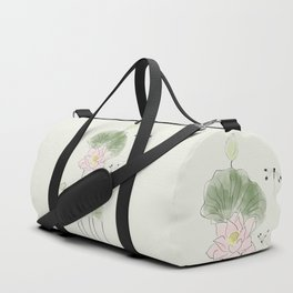 Pond of tranquility Duffle Bag