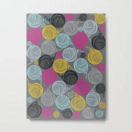 Yarn Yarn Yarn Yarn Yarn Metal Print