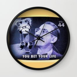 You Bet Your Life Wall Clock