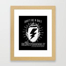 Electrobolt! Framed Art Print