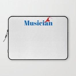 Musician Ninja in Action Laptop Sleeve