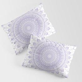 Boho Pastel Purple Mandala Pillow Sham