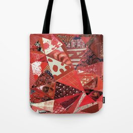 Collage - Red Hott Tote Bag
