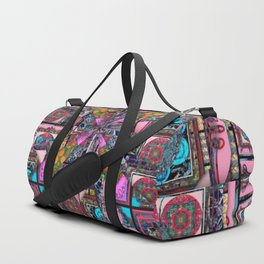 it is complicated pattern Duffle Bag