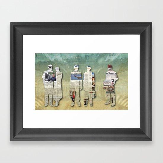 Platform 5 Framed Art Print