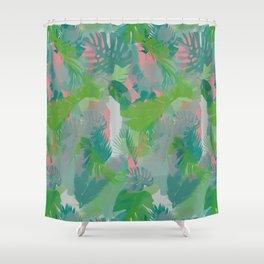 Jungle Hush Wallpaper Shower Curtain