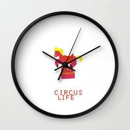 circus life Wall Clock