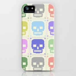 quilt of grrr (born to die). iPhone Case