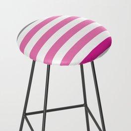 Stripes Gradient - Pink Bar Stool