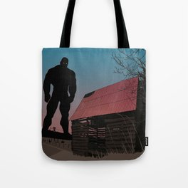 When Giants Roamed the Earth Tote Bag