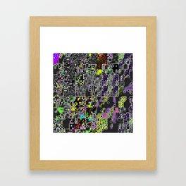pixelknitting Framed Art Print