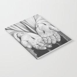 Jesus Hands Notebook