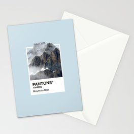 Pantone Series – Mountain Mist Stationery Cards