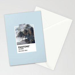 Pantone Series – Mountain Mist Stationery Cards