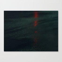 Wet Asphalt Canvas Print
