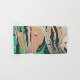 Abstract Marble 3 Hand & Bath Towel