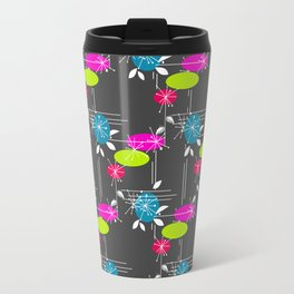 Retro . Black . Travel Mug