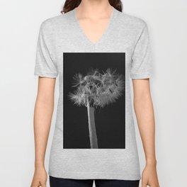 Dandelion in the dark Unisex V-Neck