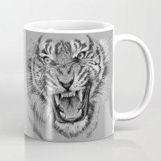 Tiger Portrait Animal Design Mug