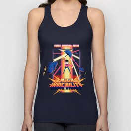 8 bit - The Master Umbrella Unisex Tank Top