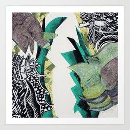 Tropic Tingles Art Print