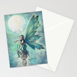 Winter Dream Fairy Fantasy Art Illustration Stationery Cards