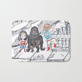 Candy Bandits Bath Mat
