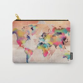 world map 33 sacred Carry-All Pouch