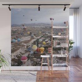 Air Ballons, Cappadocia, Turkey. Wall Mural
