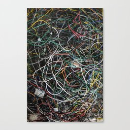 Wires.  Canvas Print